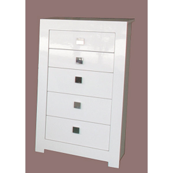 Arctic High Gloss White Tallboy: White