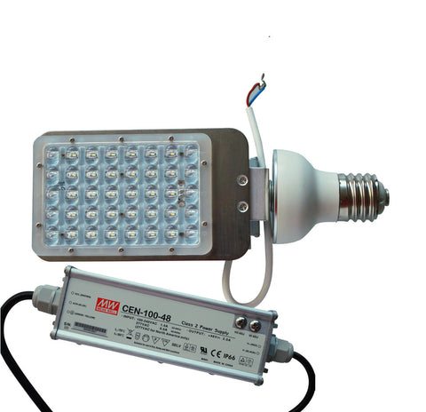 G100-180 Watt Flat Side Corn Cob Lamp 100-277V -347V