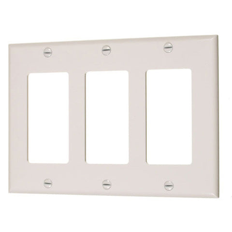 45231-3 Gang Decorator Device Cover Plate