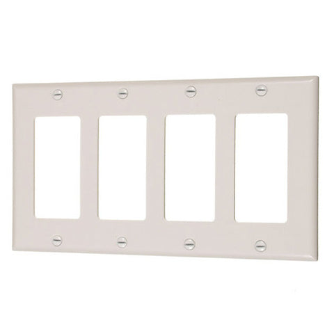 45241-4 Gang Decorator Cover Plate