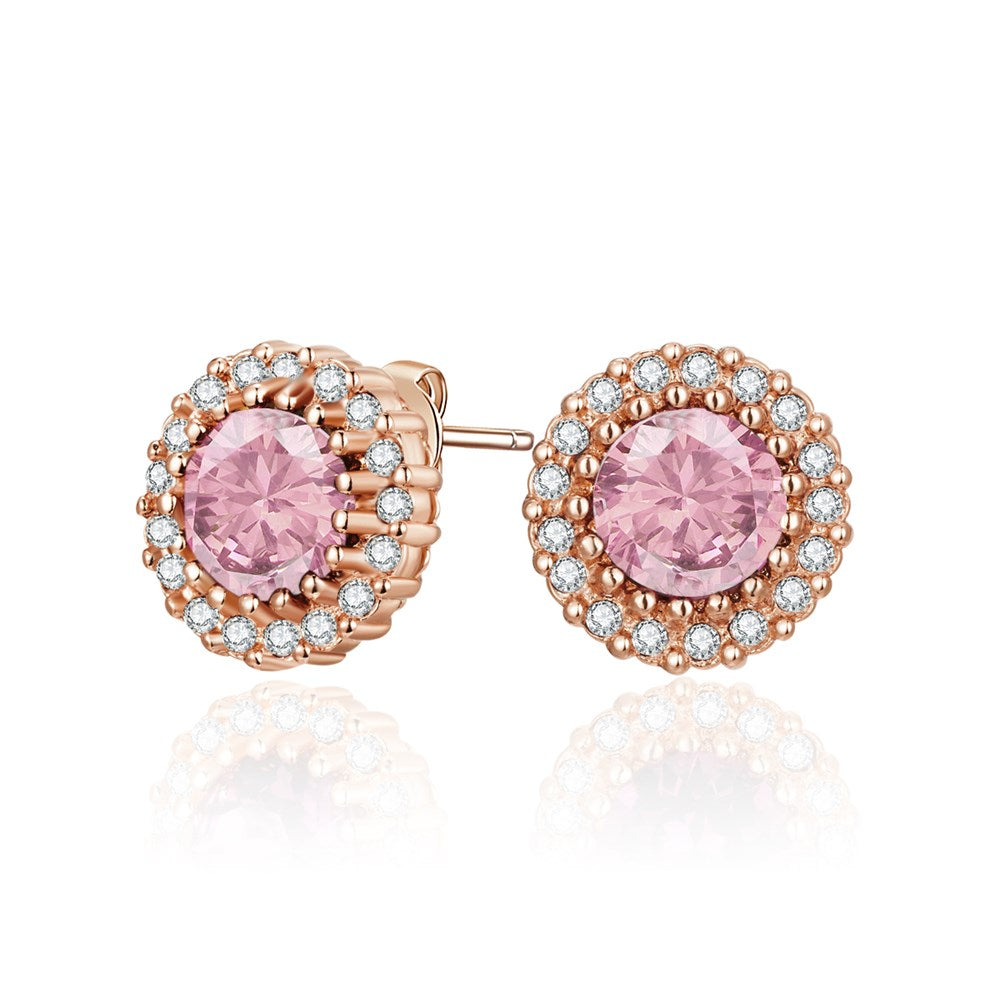 Rose Gold Mallory Earrings