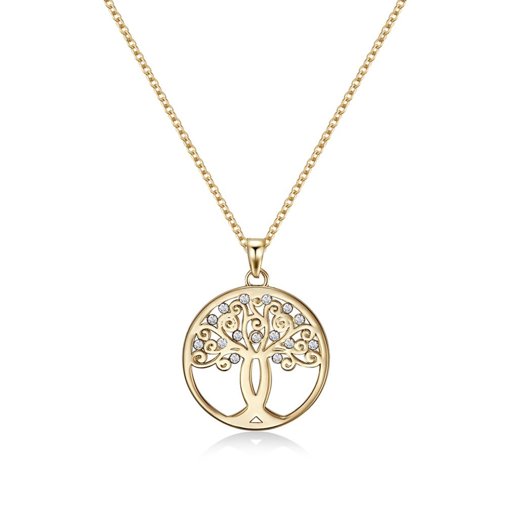 Gold Tree of Hope Necklace