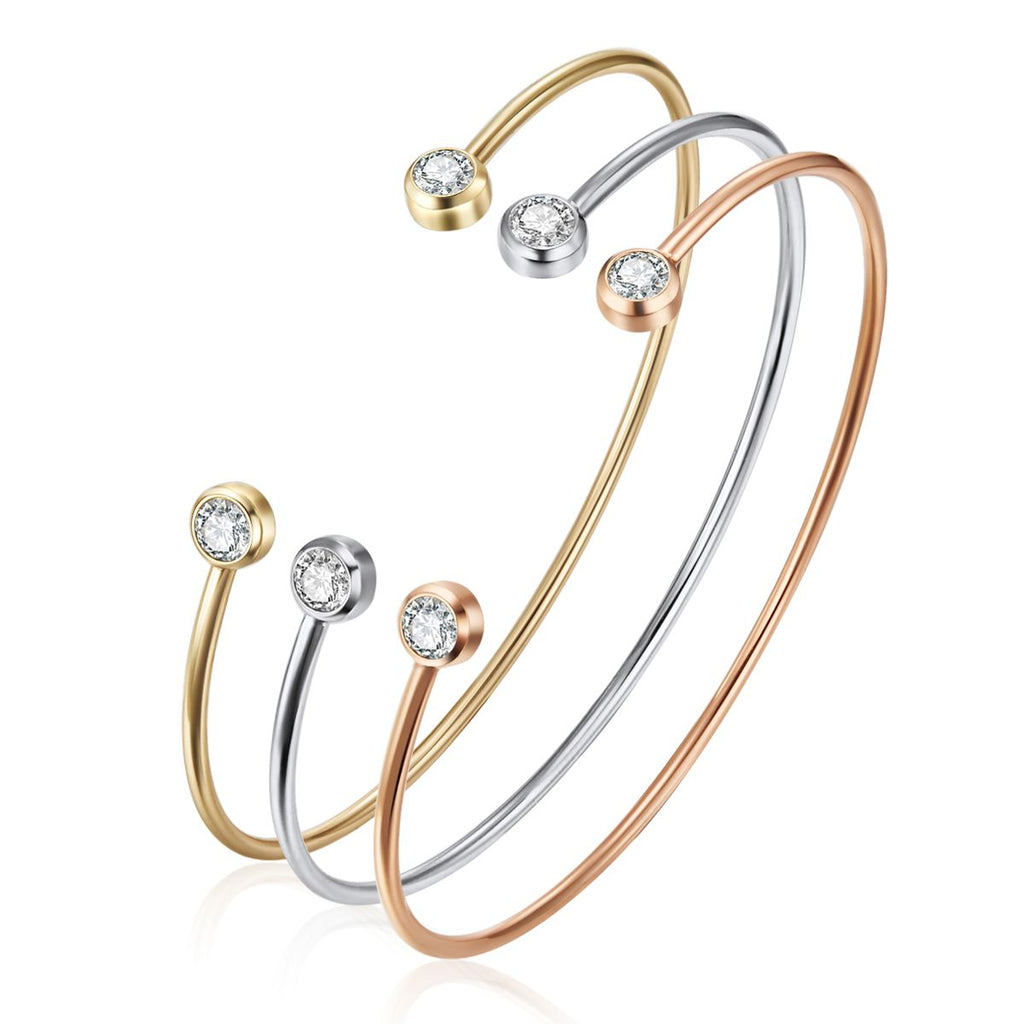 Crystal Odine Bangle Set
