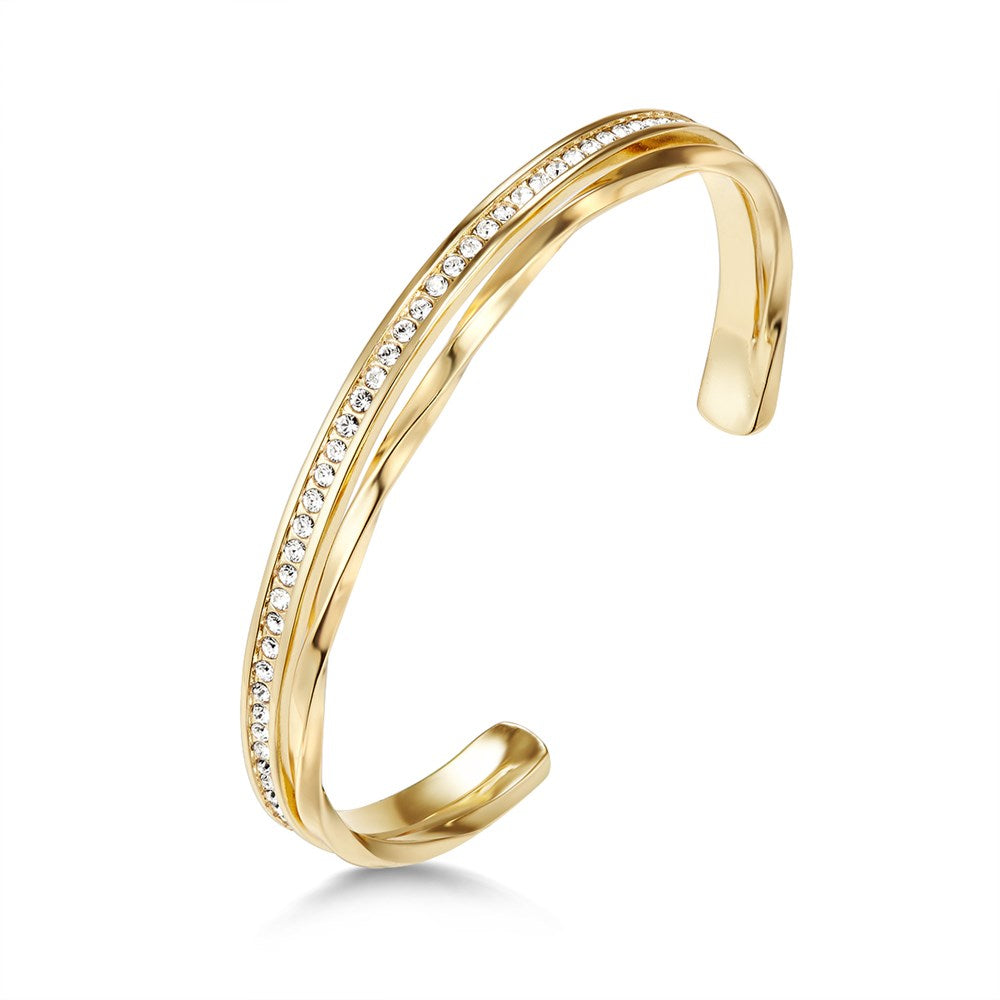 Golden Audrina Bangle