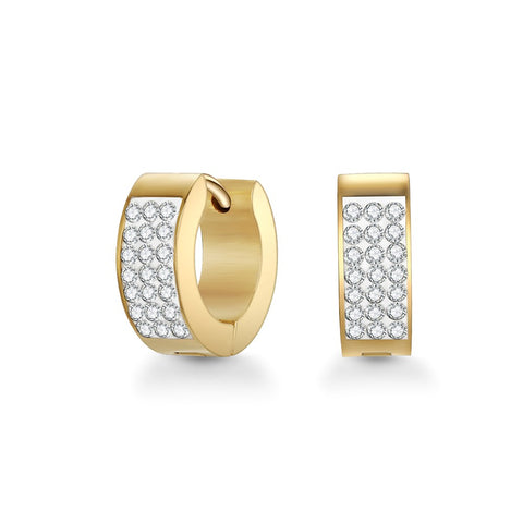 Gold Rosie Cuff Earrings