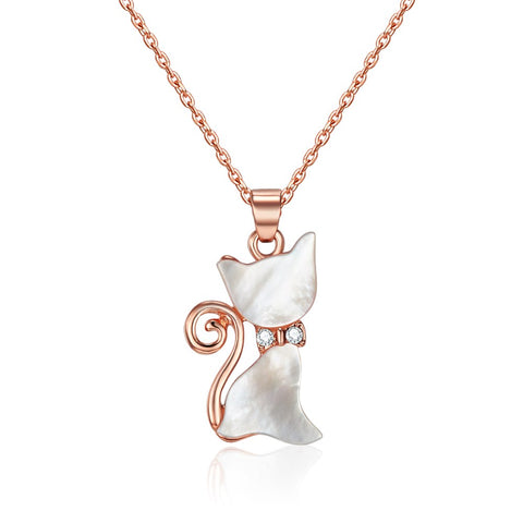 Rose Gold Whiskers Necklace