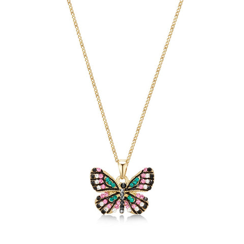 Golden Butterfly Effect Necklace