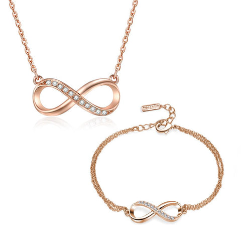 Rose Gold Infinitely Yours Set