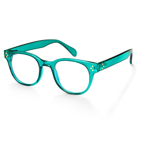 Tech Blue Light Glasses in Turquoise