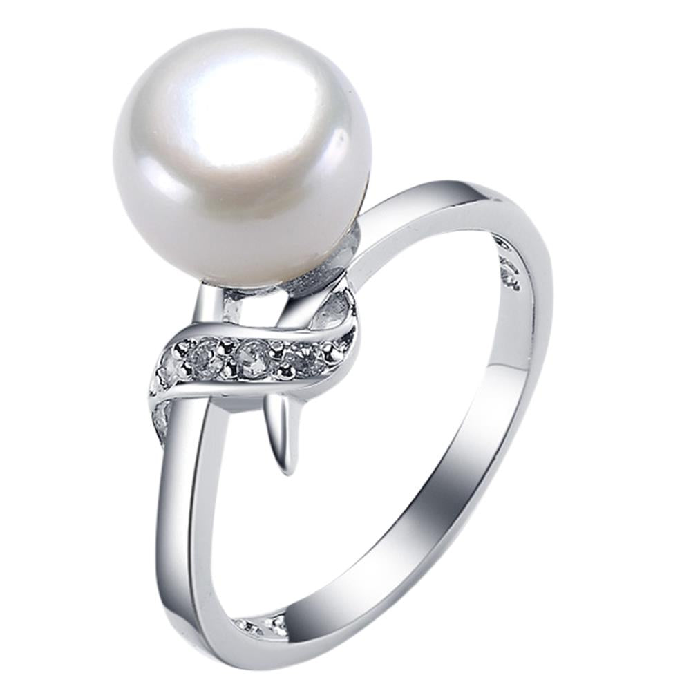 St Lucia Pearl Ring