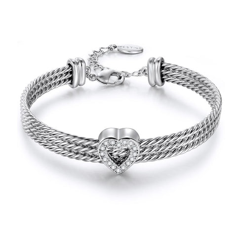 Ardor Hard Wire Cable Bracelet
