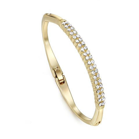 Gold Twin Roads Bracelet