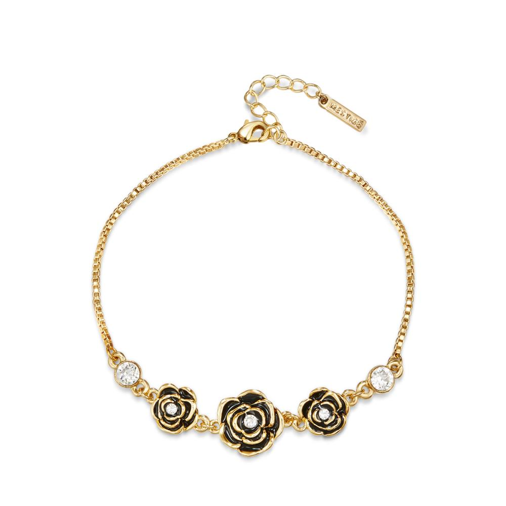 Golden French Rose Bracelet