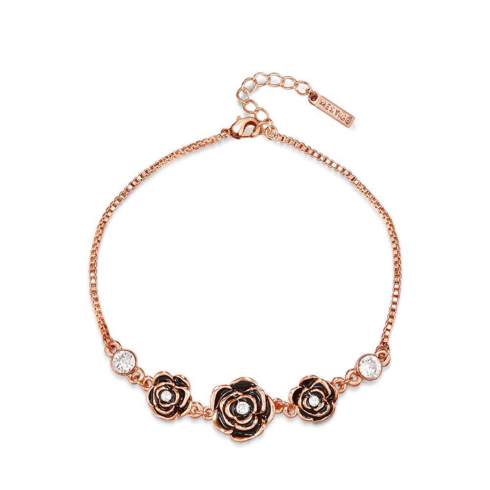 Rose Gold French Rose Bracelet