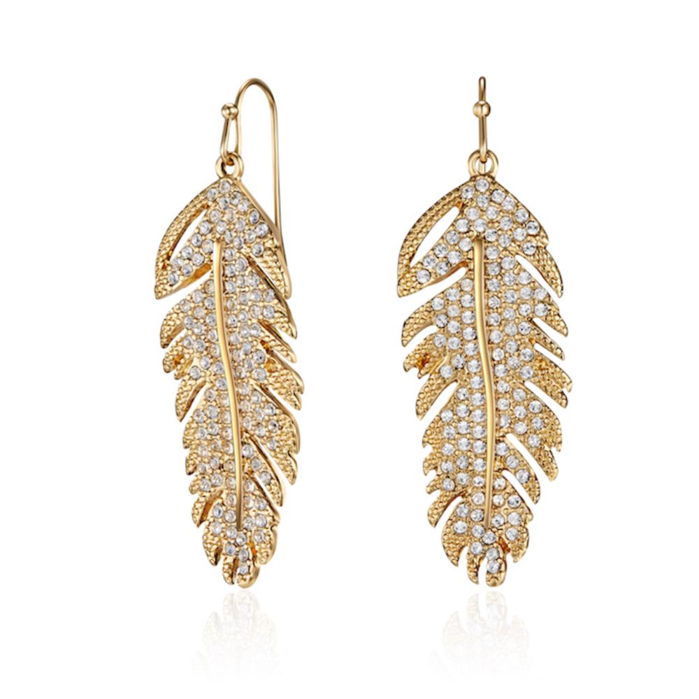 Gold Swift Earrings