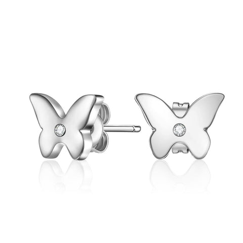 Tickled Pink Butterfly Earrings