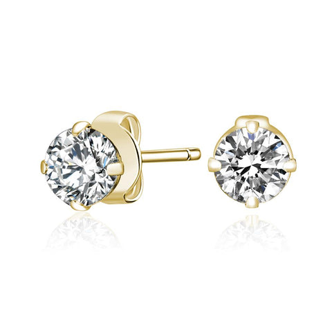 Tickled Pink Gold Bella Earrings