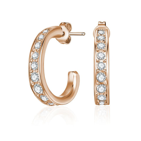 Rose Gold Matilda Earrings