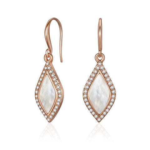 Rose Gold Carissa Earrings