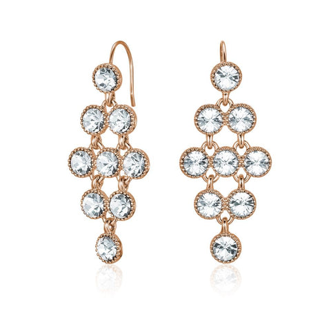 Rose Gold Larisa Earrings