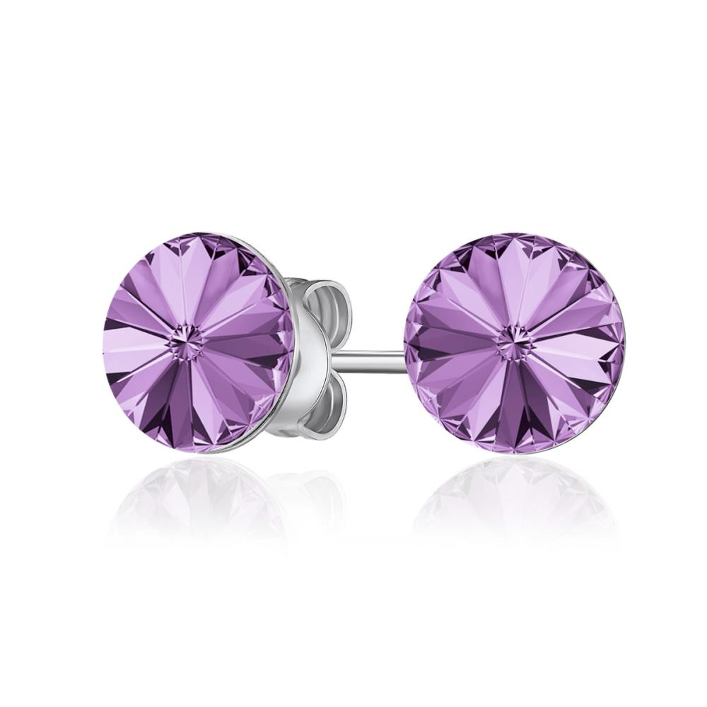Safia Amethyst Earrings