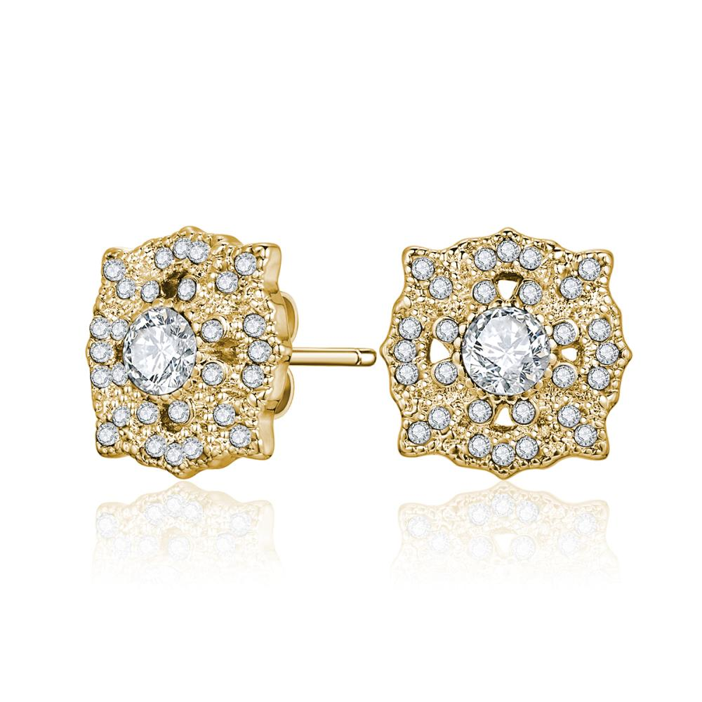 Golden Thalia Earrings