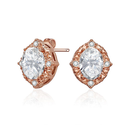 Rose Gold Lulu Earrings