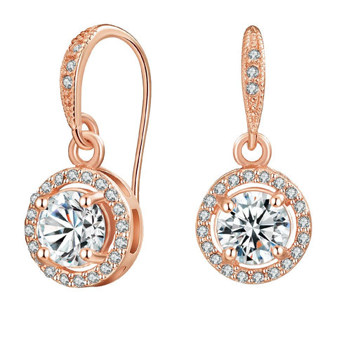 Rose Gold Liberty Earrings