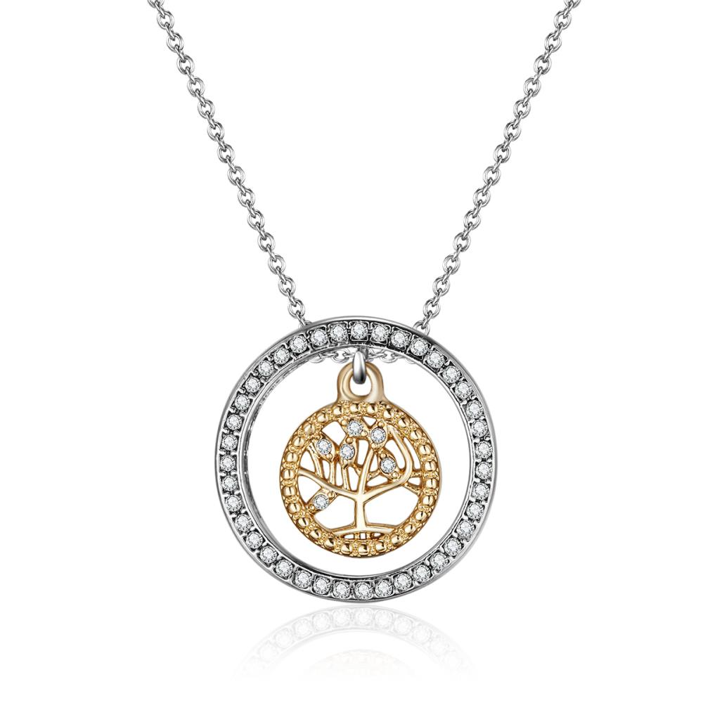 Gold Mythical Tree Of Life Necklace