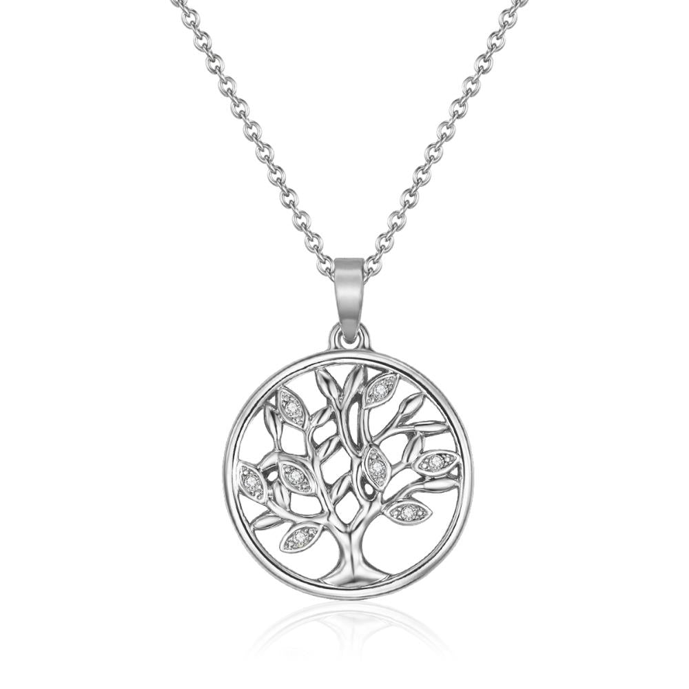 Fiery Tree of Life Necklace