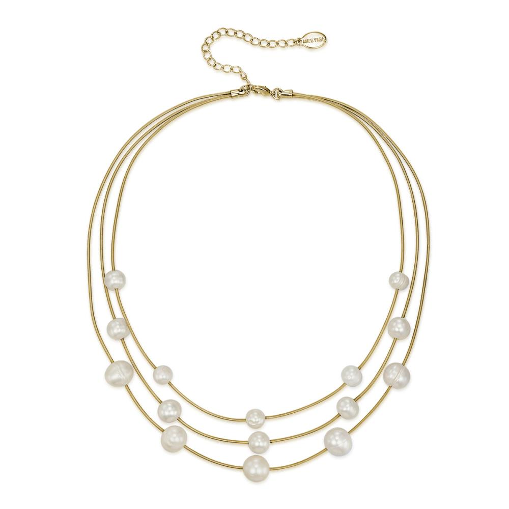 Gold Athena Freshwater Pearl Necklace