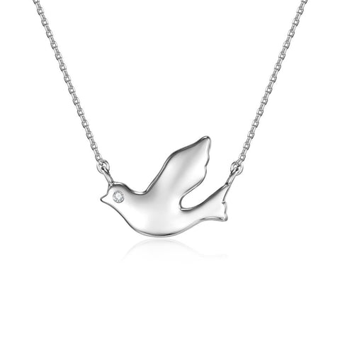 Away with the Clouds Songbird Necklace