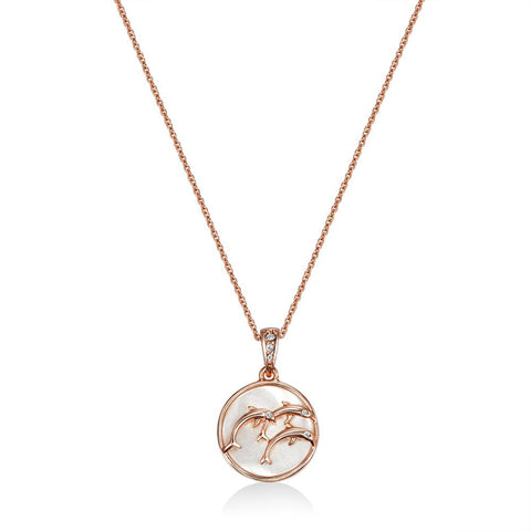 Rose Gold Maui Necklace