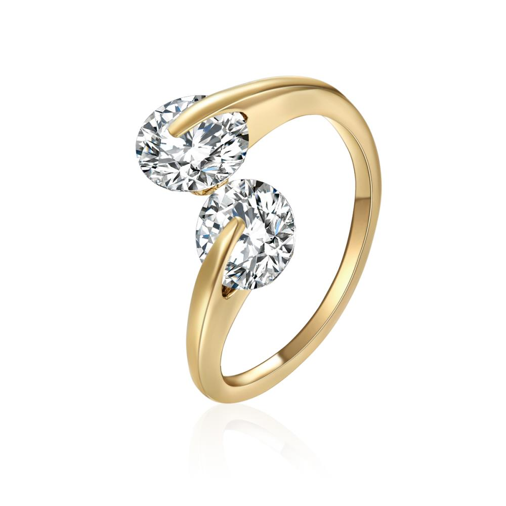 Golden Ava Ring