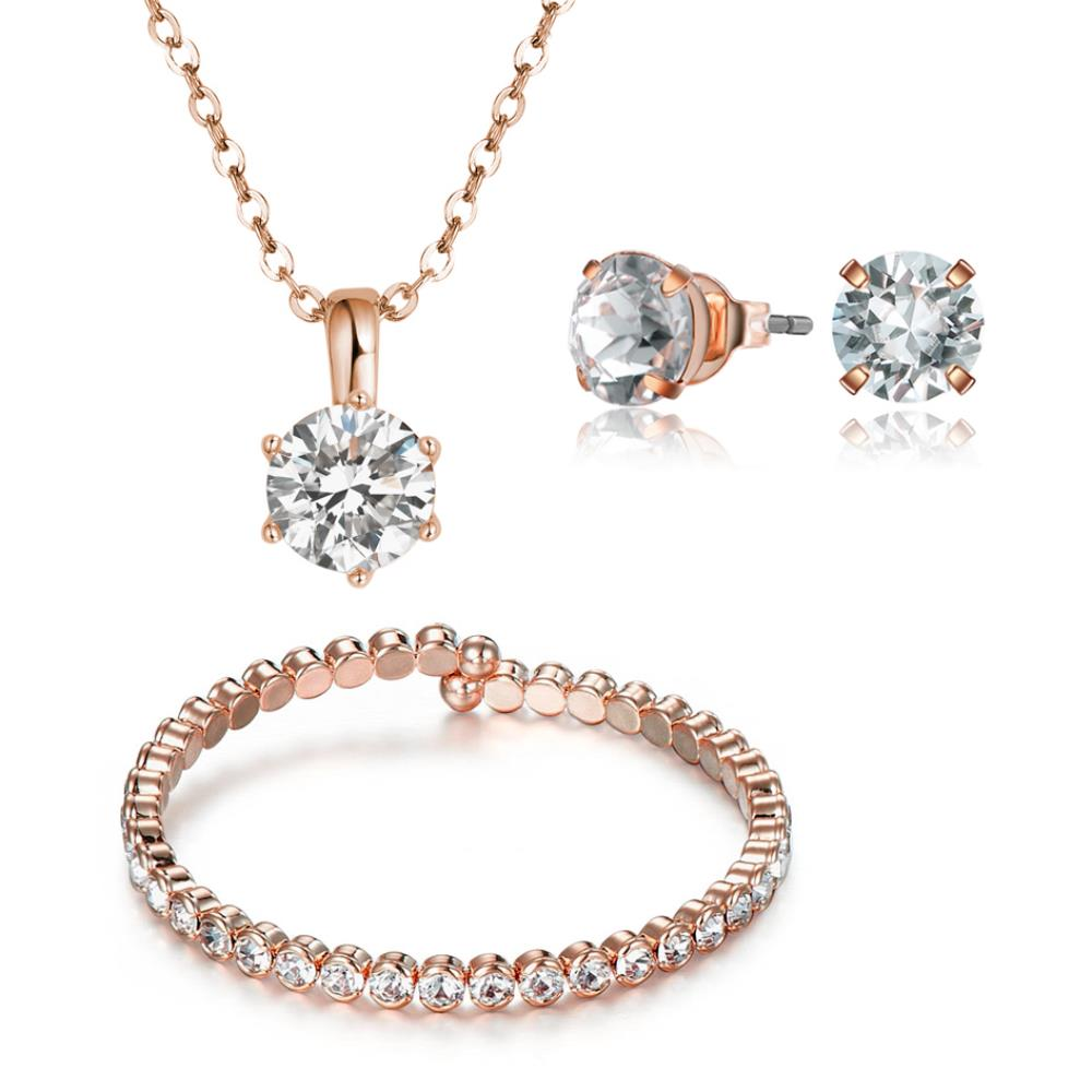 Rose Gold Luxurious Set