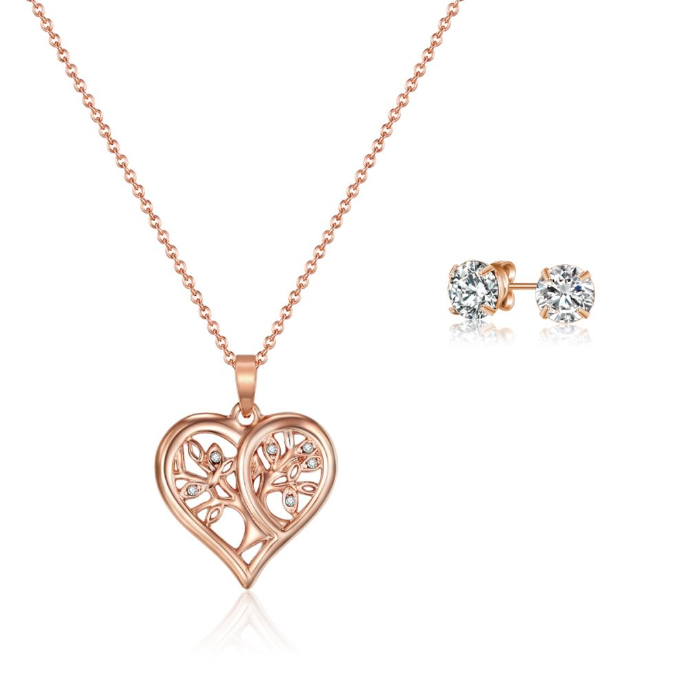 Rose Gold Tender Tree of Life Set