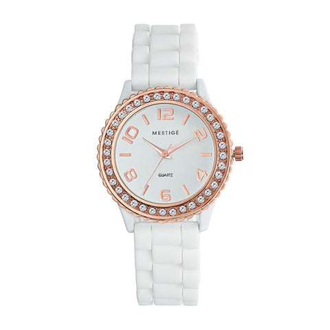 Champagne Silicone Watch