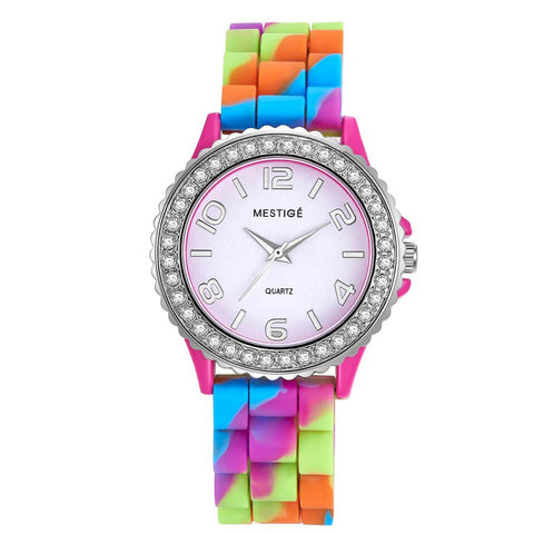 Rainbow Deluxe Silicone Watch