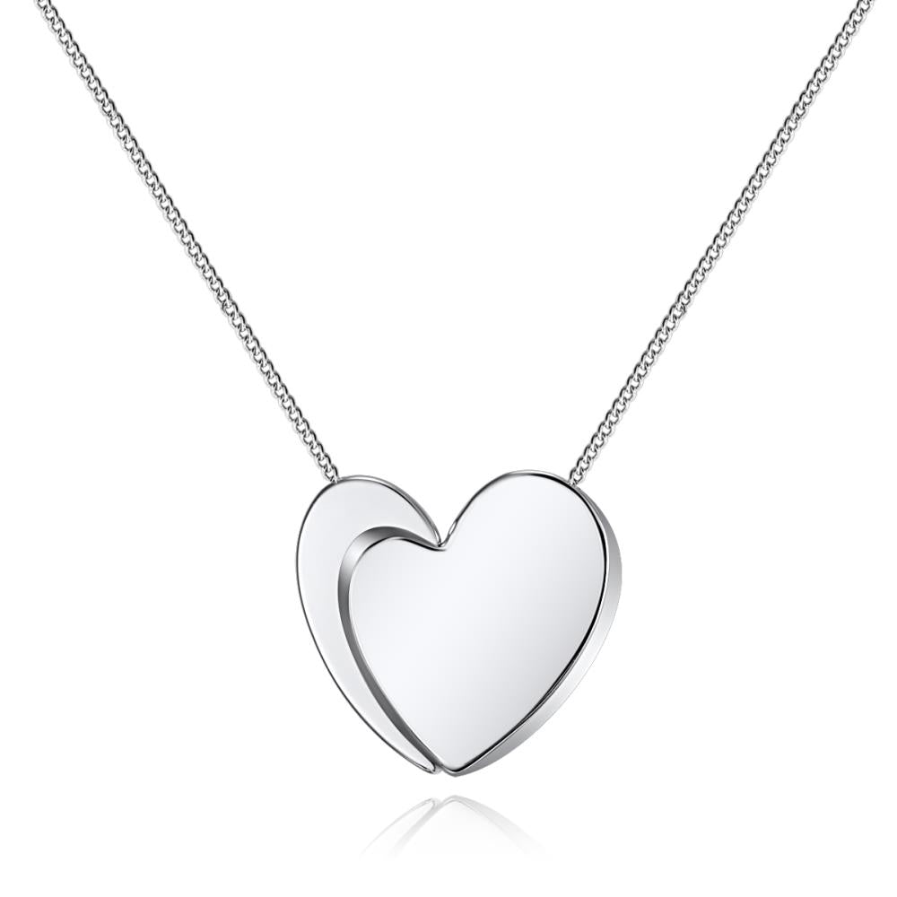 Fine Affection Silver Necklace