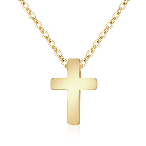 Fine Cross Golden Necklace