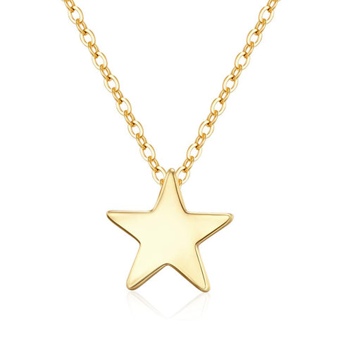 Fine Star Gold Necklace