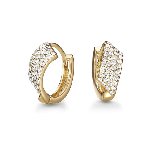 Golden Yasmeen Earrings