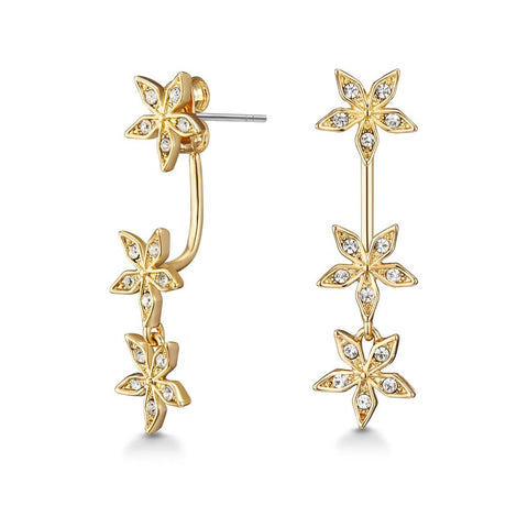 Golden Star Gazer Earrings