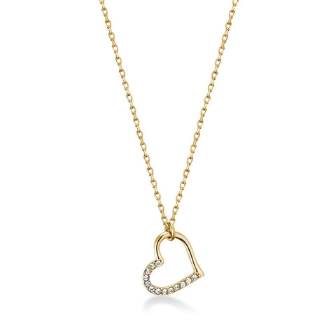 Golden Lovers Necklace