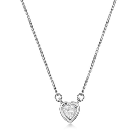 Amour Necklace with Swarovski® Crystals