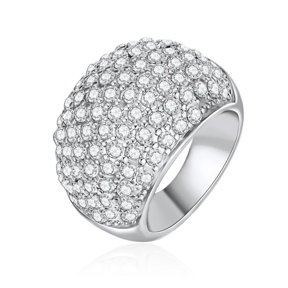 Crystal Ashby Ring with Crystals From Swarovski®
