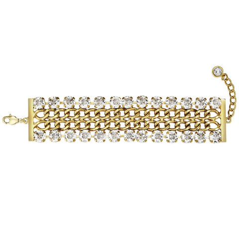 Gold Cathedral Bracelet