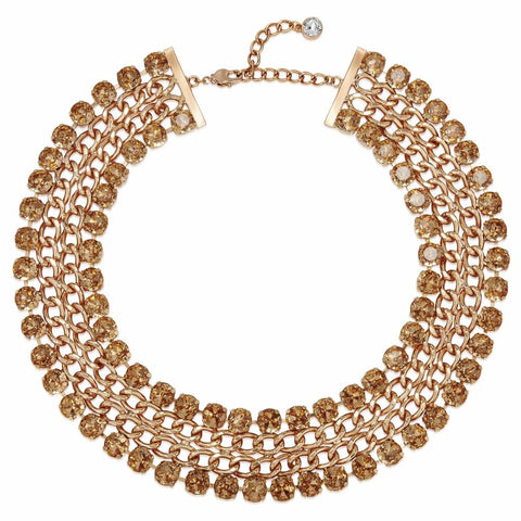 Rose Gold Opulence Necklace