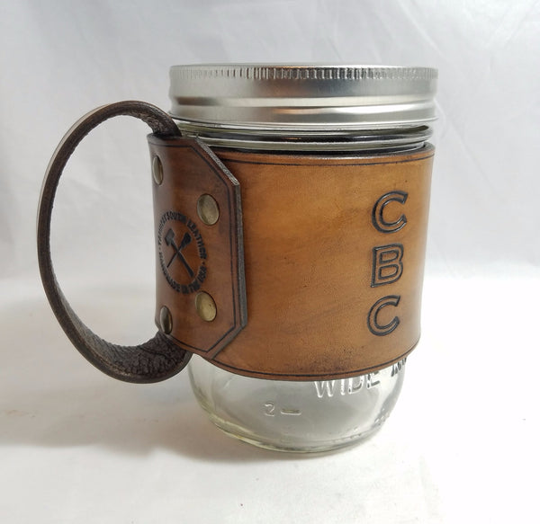 The Gripper Mason Jar Wrap