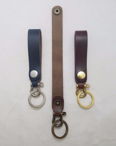 Key Shackle - Chromexcel Horse Strip